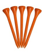 Pride Golf Wood Tees Citrus Orange, All Sizes Available - $6.99