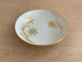 Lenox T-428 Fairfield Gold Flower & Leaves in Gold Replacement Sauce Bowl - $9.90