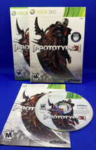 Prototype 2 (Microsoft Xbox 360, 2012) CIB Complete w/ Slip Cover - Tested! - $21.90