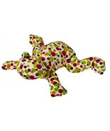 "Mary Meyer Fizz Frog Print Pizzazz 12"" Soft Velour Embroidered Machine Wash - $24.74"