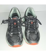 Women's ASICS Gel-Nimbus 19 Running Shoe Size 8 Carbon/White/Flash Coral - $29.70