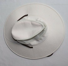 Dorfman Pacific Mesh Breezer OUTBACK HAT Light Tan Medium w/Leather strap - $15.99