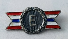 Original WWII US Army Navy E Production Award Pin - Sterling Silver - $11.00