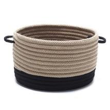 Harbor Black Round Polypropylene Basket - $206.62