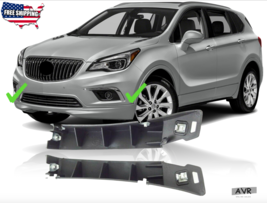Fit For 2016 2017 2018 Buick Envision Front Bumper Lower Bracket Support Pair - $32.71