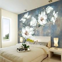 """3D Wallpaper """"White Flowers""""  - $35.00+"""