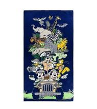 Disney Parks Animal Kingdom Mickey and Friends Safari Beach Towel New with Tags - $34.49