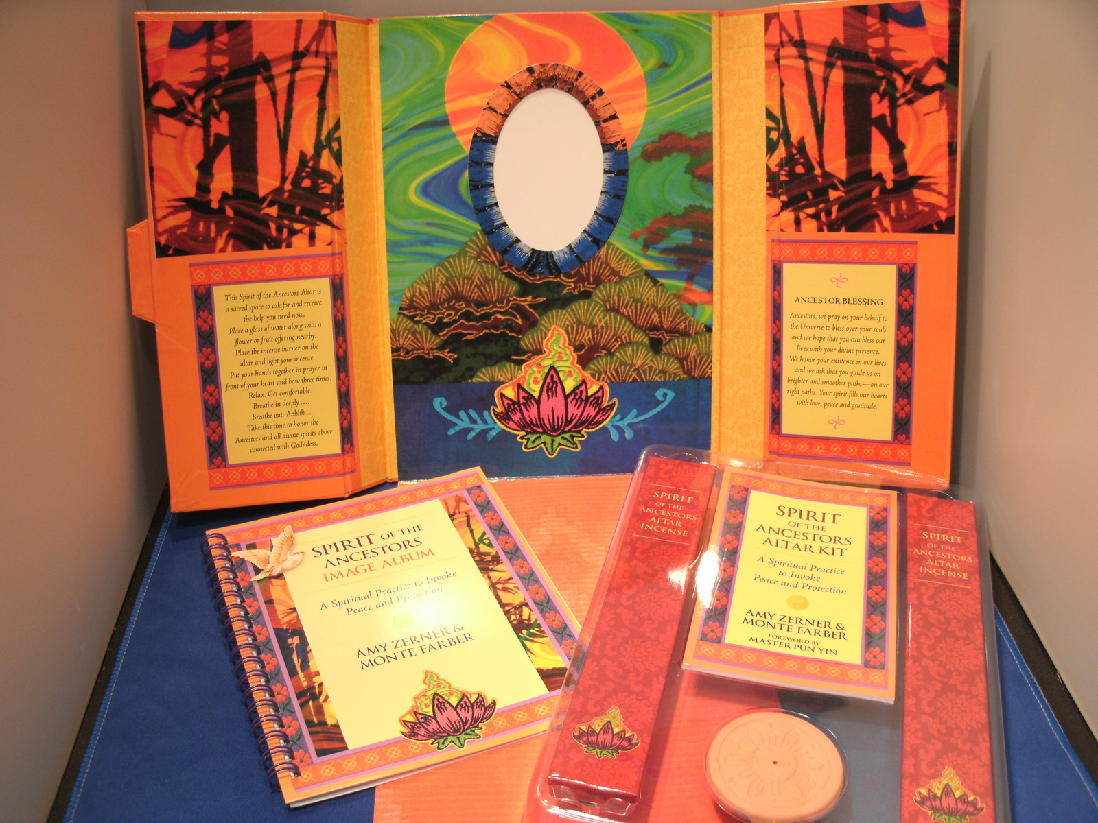 Spirit of the Ancestors Altar Kit by Amy Zerner & Monte Farb - NEW