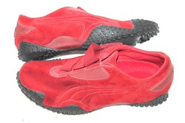 Puma Mostro Red Suede fashion Running Shoes Size 37 UK 4 US men 5 wns 6.5 - £15.28 GBP