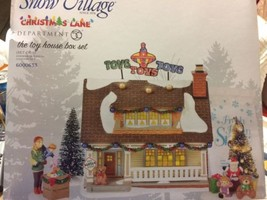 Dept 56 Snow Village New 2018 Christmas Lane THE TOY HOUSE BOXED SET 600... - $128.70