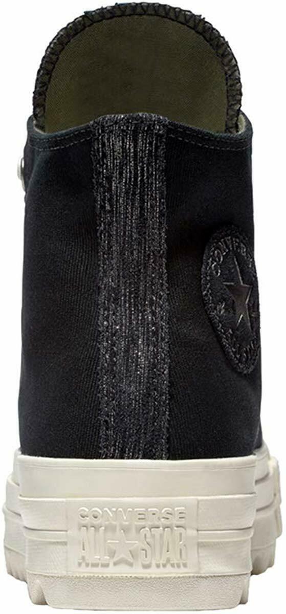 Women's Converse Chuck Taylor All Star Lift Ripple Hi, 561671C Multi Sizes Black image 3