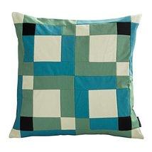 Black Temptation [Spring Hope] Handmade Canvas Decorative Pillow Unique Grid Cus - $38.50