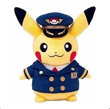 Pokemon Center Kansai Airport limited stuffed pilot Pikachu - $64.78