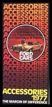 1977 Ford Accessories Brochure Mustang Pinto Granada LTD Maverick - $2.36