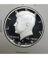 2019 S First .999 Fine Silver Kennedy Half Dollar Proof Coin - $19.03
