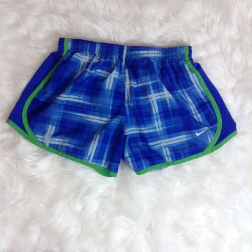 d4c5809160e0 Nike Tempo Blue Green Plaid Lined Athletic and 50 similar items