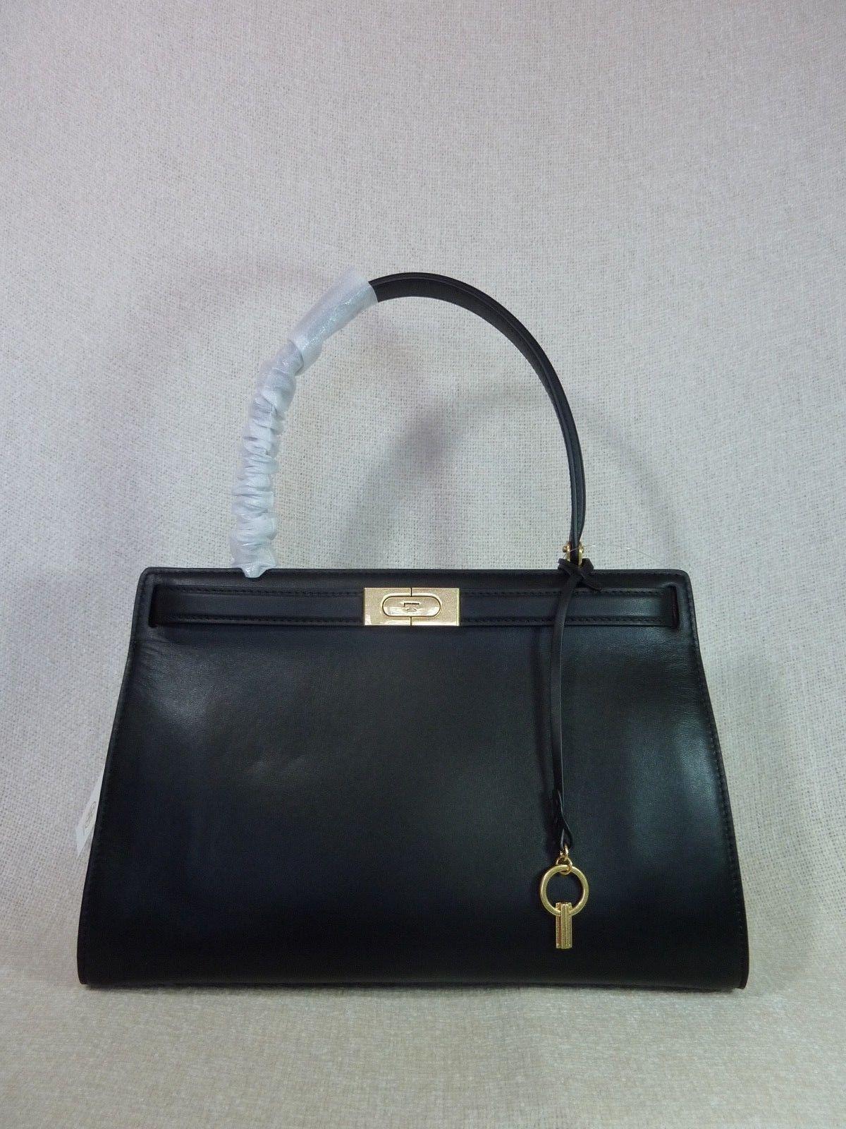 6ed9f862f3cb Nwt Tory Burch Black Leather Lee Radziwill and 50 similar items