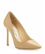 Jimmy Choo Romy 100mm Leather Pumps Shoes Size 10 MSRP: $595.00 - £314.50 GBP
