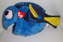 "TY BEANIE DISNEY 12"" Plush SPARKLE DORY Fish FINDING NEMO Blue BEANIE BU... - $14.82"