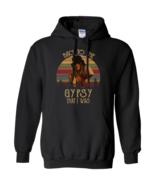 Stevie Nicks Back To Gypsy That I Was Vintage G185 Black Hoodie 8 oz - $32.50+