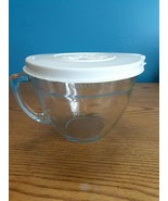 Pampered Chef Batter Bowl Lid 8 Cup 2 Qt Quart Glass Measuring Mixing  - $24.70