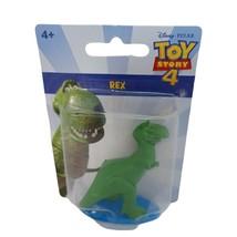 Disney Pixar Toy Story 4 Figurine Rex Miniature Figure New! - $8.90