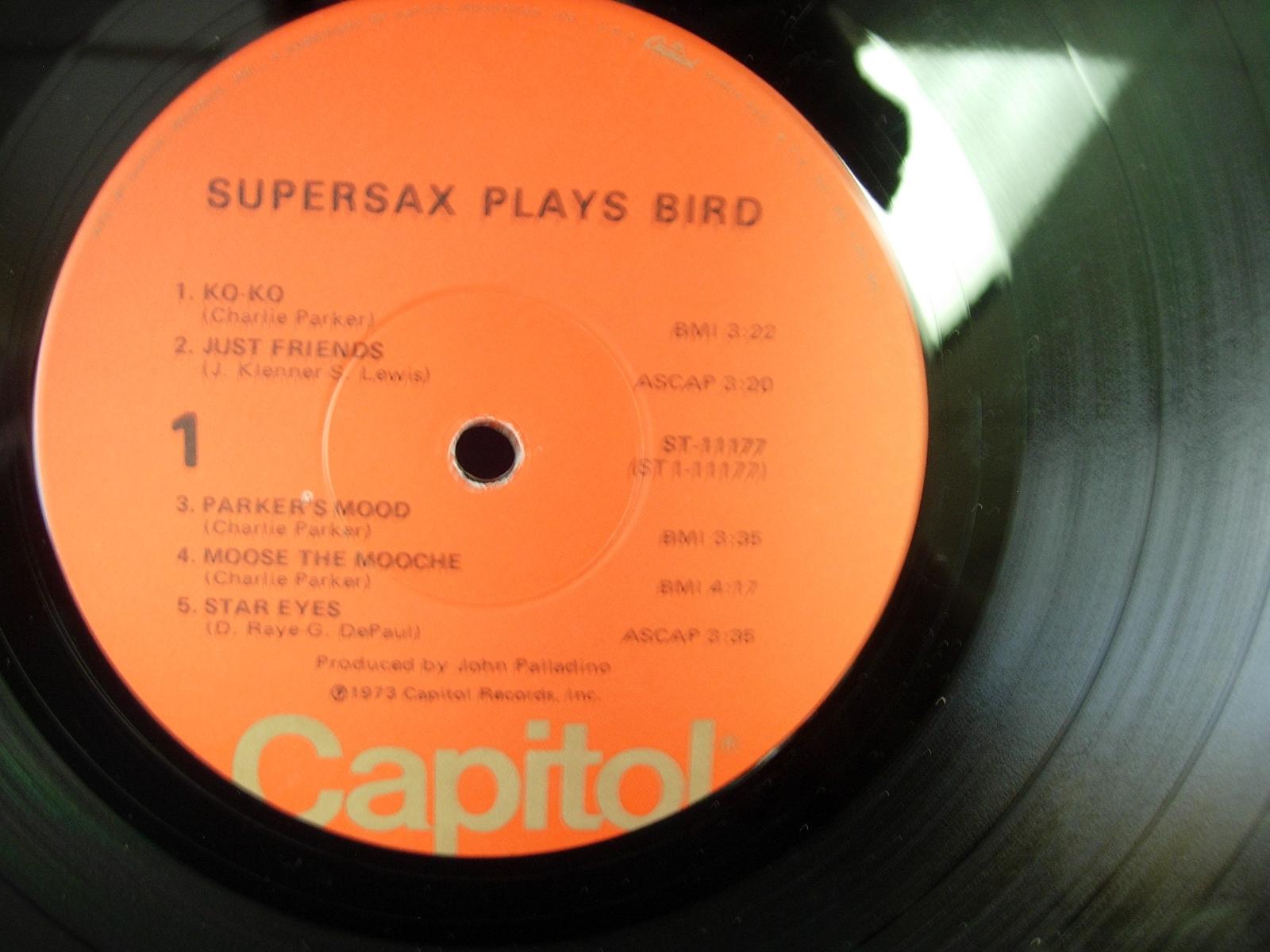 Supersax plays Bird - Capitol ST-11177
