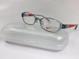 New KIDS NIKE 5008AF 032 Grey & Red Eyeglasses 47mm with Nike Case - $69.25