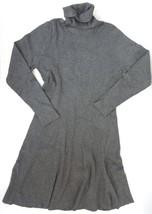 NWT Design History Women's Grey Heather Turtleneck Sweater Dress Large L... - $391,17 MXN