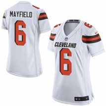 Nike Women's Cleveland Browns #6 Baker Mayfield Game White Jersey - $979,17 MXN