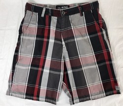 Billabong Shorts Built To Thrash Plaid Skater Surf Mens Size 34 - $20.90
