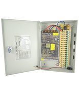 MPS12V-18CH18A 12 Volt DC /18 AMP 18Ch Camera Fused Power Supply 1 Amp /... - $55.00