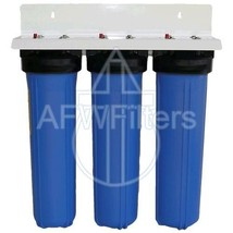 20-inch 3 Stage Big Blue Whole House Filter - $330.95