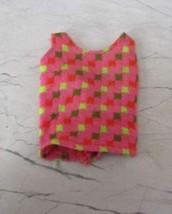 1968 Barbie #1160 Mod Era Tagged Twist N Turn Original Outfit Vf !! - $15.79