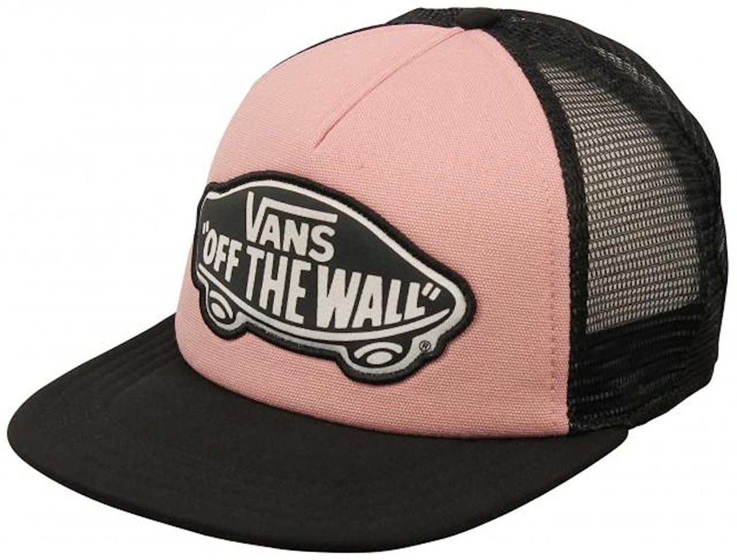 8308ca70 Vans Beach Girl Trucker Hat Pink Zephyr and 50 similar items