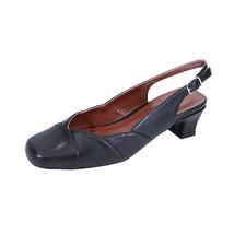 FIC PEERAGE Eve Women Wide Width Elegant Low Heel Dress Slingback - $69.95
