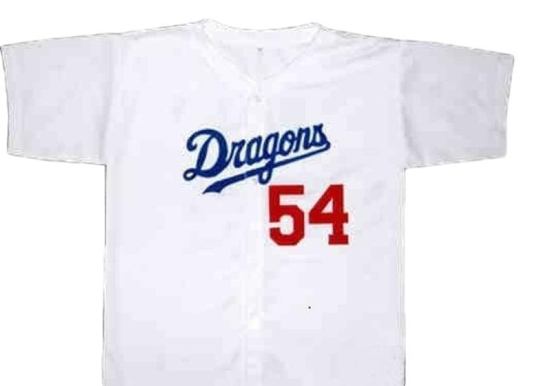 Mr. baseball movie   jack elliot   nagoya dragons baseball jersey 1