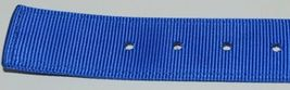 Valhoma 760 S24 BL Spike Dog Collar Blue Double Layer Nylon 24 inches Package 1 image 4