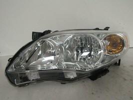 2011 2012 2013 Toyota Corolla Driver Lh Halogen Headlight Oem C80L - $82.45