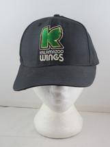 Kalamazoo Wings Hat (VTG) - IHL K Wing Logo - Adult Snapback - $65.00