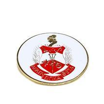 Delta Sigma Theta Sorority Round Car Tag Badge - $10.88