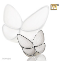 Butterfly Wings of Hope Adult Funeral Cremation Urn for Ashes, 3 Cubic I... - $48.99