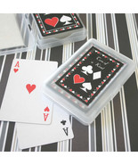 144 Two of a Kind Playing CARDS Vegas Bridal Wedding Favor (personalized... - €94,41 EUR