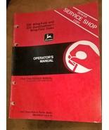 JD John Deere 235 Wing-Fold Disk Operators Manual OMA49223 J4 - $29.95