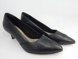 Cloudsteppers by Clarks Linvale Sage Sz 9 M EU 40 Women Pointy Toe Leather Pumps - $39.59