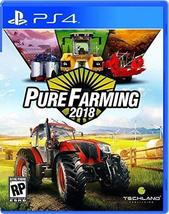 Pure Farming 2018 - PlayStation 4 [video game] - $42.85
