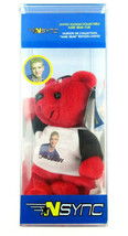 New In Box NSYNC Justin Timberlake Limited Edition Collectible Bear Dead... - $29.95