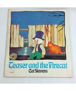 Teaser and the Firecat 1972 Childrens Vintage Book by Cat Stevens Schola... - $59.99