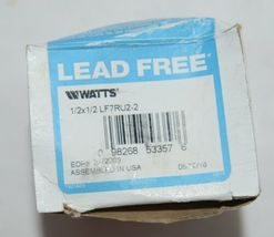 Watts Lead Free Residential Dual Check Valve Union Female NPT image 5