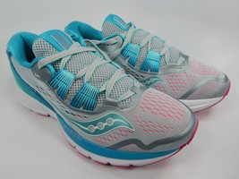 Saucony Zealot ISO 3 Women's Running Shoes Size US 8 M (B) EU 39 Grey S10369-1